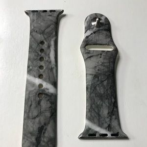 Jewelry - Marble Apple Watch band (charcoal grey). Brand new